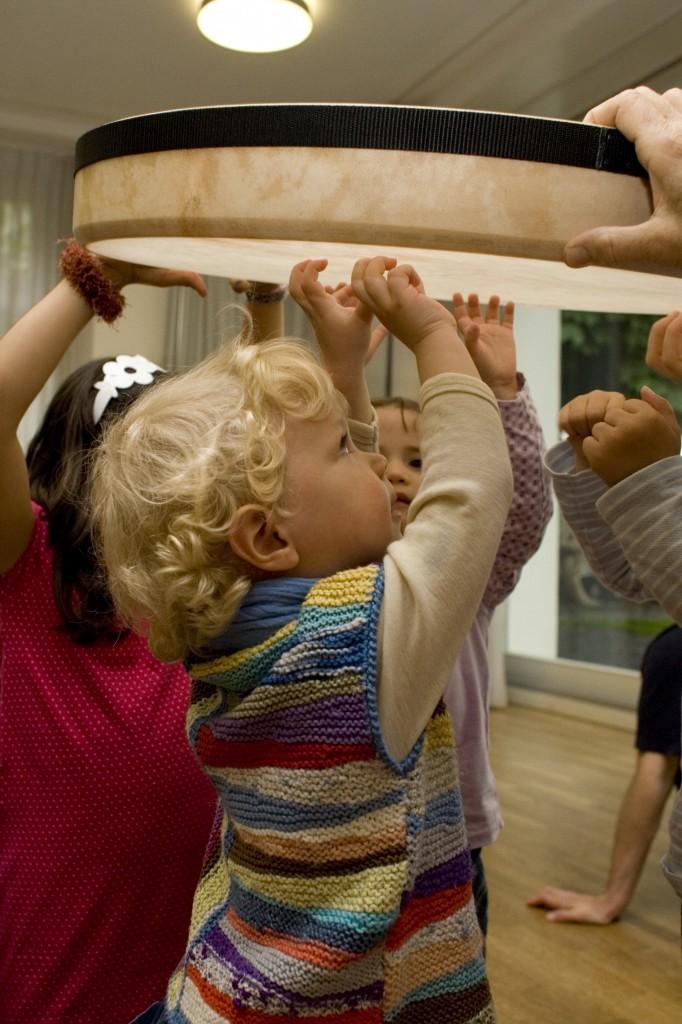 Rythmikstunden für1-3-Jährige